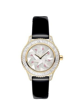 Ladies' Sheer V-Neck Watch